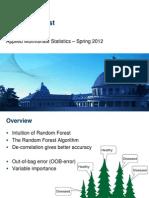 Random Forest  And Analytics