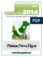 Pakistan News Digest May - 2014