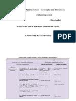 O modelo de auto - Avaliação da BE metodologias de operacionalização (Conclusão)