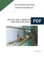 Manual Del Laboratorio de Mecánica de Suelos I