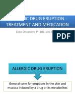 Allergic Drug Eruption Treatment
