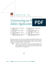 Constructing an HTML Editor Application