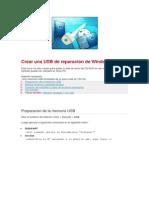 Crear una USB de reparación de Windows 7.docx