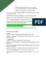 Lista de Referencias Bibliograficas
