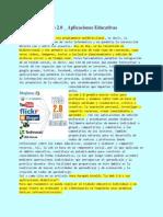 Web2.0_AplicacionesEducativas