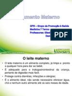 Aleitamento Materno - Gps