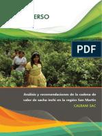 Análisis de La Cadena de Valor de Sacha Inchi en San Martín
