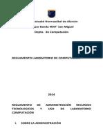 Reglamento de Uso de Laboratorio(en Construccion)