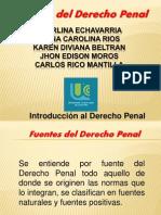 Presentacion Fuentes Del Derecho Penal