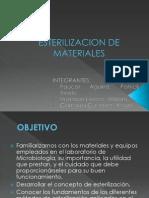 Esterilizacion de Materiales