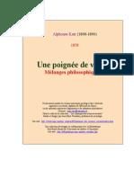 Karr, Alphonse | Une poignée de vérités.pdf