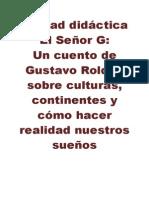 _UNIDAD didáctica DIVERSIFICACIÓN  El Señor G.doc