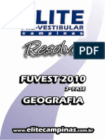 Elite Resolve Fuvest 2fase 2010-EspGeo
