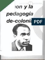 Fanon y La Pedagogia de Colonial