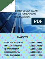 Peranan Bank Devisa Dalam Lalu Lintas Pembayaran Internasional
