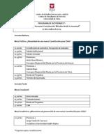 Programa Jornadas (PRELIMINAR)