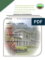 Informe Original de Ecologia