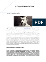 A Teoria Das Organizações de Max Weber