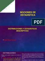 4. Nociones de Estadística