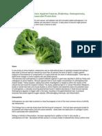 Broccoli Based Medicine