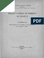 Ideales y Normas de Gobierno de Felipe II