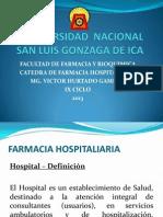 Farmacia Hospitalaria i - Clase i 1