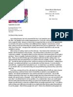 Evansdale Medical Clinic Letter