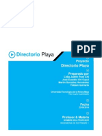 TI41 Equipo1 DirectorioPlaya-REV01