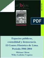 Chion-espacios Publicos, Centralidad y Democracia