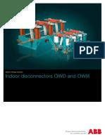 ABB Disconnectors OWD OWIII_EN_16-04