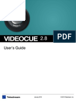 Videocue User Guide