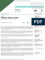2011 Atrasos Fiascos Afins Observ Imprensa