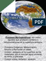 Meteorizacion y Suelos