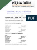 Contrato de Promessa de Compra e Venda de Imóvel.doc
