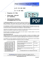 9840 Series Power Calibrators (Single and 3 Phase)