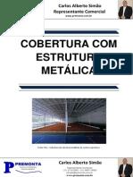 Cobertura Com Estrutura Metalica