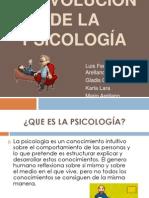 La Evolución de La Psicología
