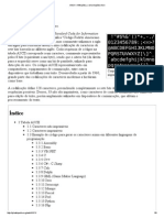 ASCII – Wikipédia, A Enciclopédia Livre