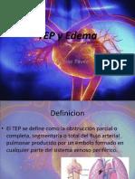 TEP y edema2.0