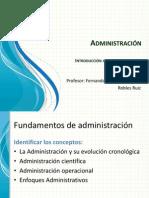 Administración Unidad 1