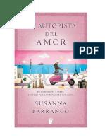 La Autopista Del Amor - Susanna Barranco