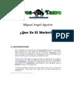 Aguirre, Miguel Angel - Que Es El Marketing