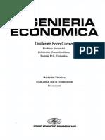 28357274 Ingenieria Economica Guillermo Baca Currea