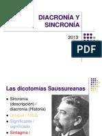 Diacronia Sincronia Paradigma Sintagma