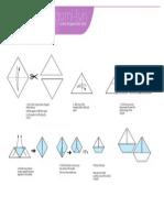 Origami Sailboat Print