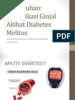 Penyuluhan nefropati diabetik