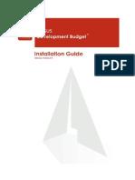 Development Budget Install Guide