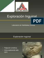 Exploración Inguinal