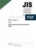 JIS G3141