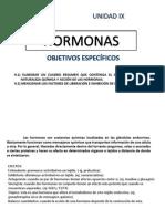 Unidad Ix Hormonas